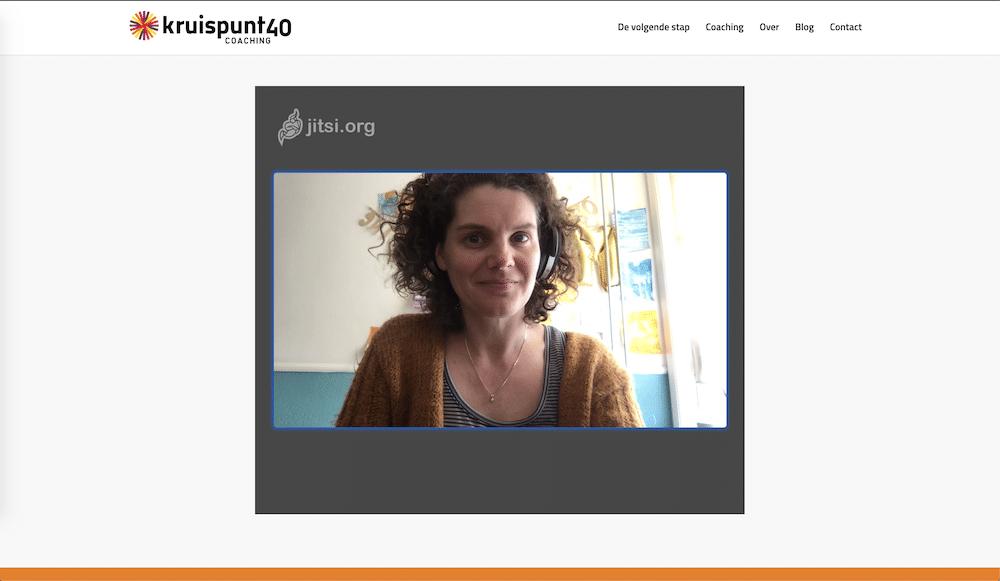 Veilig videobellen IN je eigen website